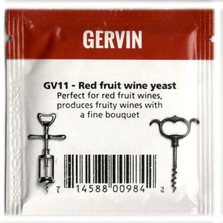 Дрожжи винные Gervin Yeast GV11 - Red Fruit