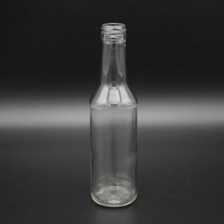 Бутылка винтовая 0,25 л Крис чекушка с алюминиевой крышкой