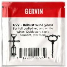 Дрожжи винные Gervin Yeast GV2 - Robust