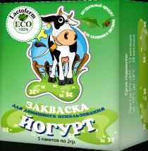 Закваска для Йогурта Lactoferm ECO (YO-269) 1-3 л. молока