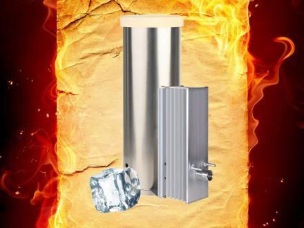 Охладитель дыма (конденсатосборник) к дымогенератору Hobbi-Smoke