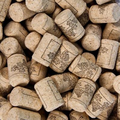 Пробка винная натуральная 33x23 мм агломерированная 25 шт