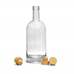 Бутылка Виски Премиум, 1 л / 8 шт. (без пробки)