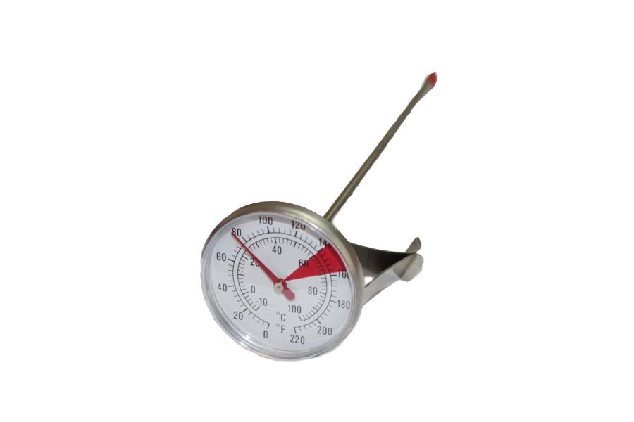 Термометр аналоговый 22см с клипсой 0..110 С