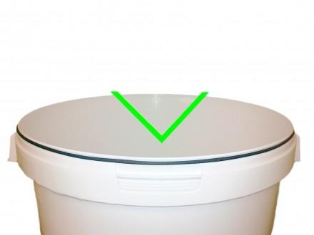Силиконовое уплотнение для емкости 33л