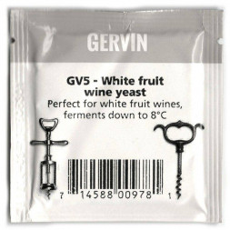 Дрожжи винные Gervin Yeast GV5 - White fruit