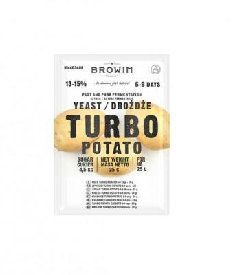 Дрожжи Browin Turbo-Potato, 25 гр