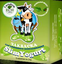 Закваска для SlimYogurt Lactoferm ECO (YO-440) 1-3 л. молока