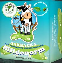 Закваска для Бифидонорма Lactoferm ECO (BF-1) 1-3 л. молока
