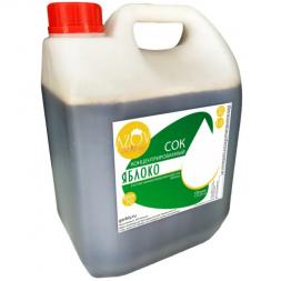 Сок яблочный концентрированный (2,5-2,8%) BRIX 70% 5 кг