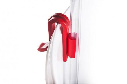 Клипса-держатель пластиковая для сифона