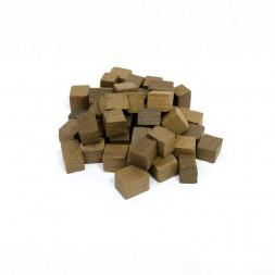 Щепа для настаивания Яблоня (кубики) средний обжиг 100 гр