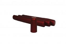 Термоколпачок для винных бутылок 31x55, красный (Италия), 100 шт