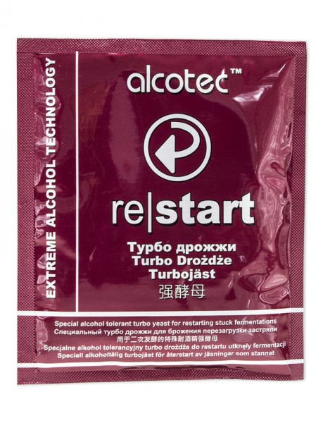 Турбо-дрожжи Alcotec Restart
