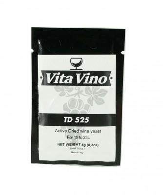 Дрожжи винные Vita Vino TD-525, 8 гр