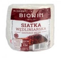Сетка для мясных изделий 220°C - для жарки, копчения, запекания, засолки - эластичная (22 см - 4 м)