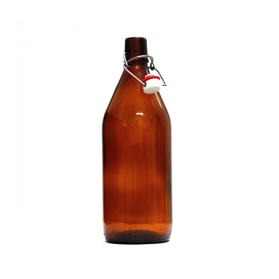 Бутылка Бомба, 1 л / 9 шт (бугель в комплекте)