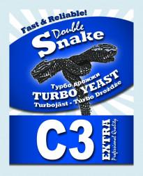 Турбо-дрожжи DoubleSnake C3 Extra