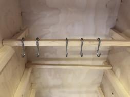 Набор крючков для коптильни S-образные (D8)