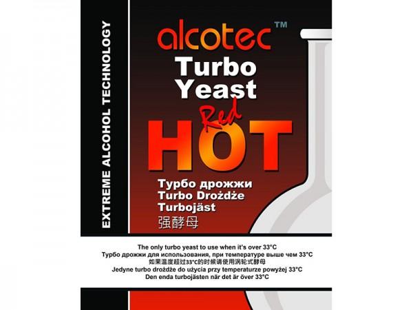 Спиртовые дрожжи Alcotec Red Hot (90 г)
