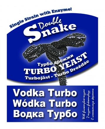 Турбо-дрожжи DoubleSnake Vodka с глюкоамилазой, 70 гр