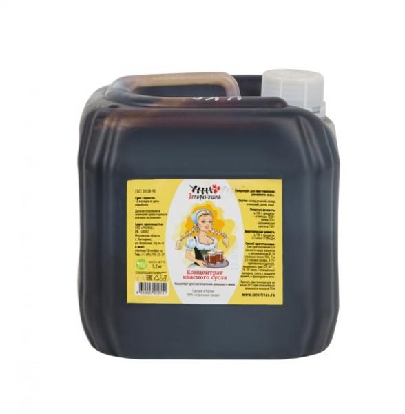 Концентрат квасного сусла, канистра 5,2 кг