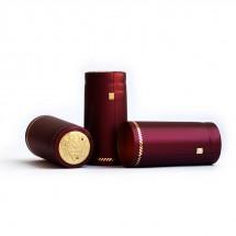 Термоколпачок Бордовый металлик, 40 шт.