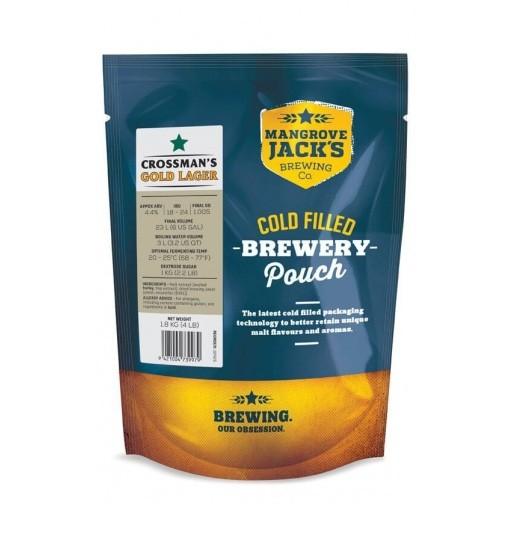 Солодовый экстракт Mangrove Jack's Gold Lager 1,8 кг