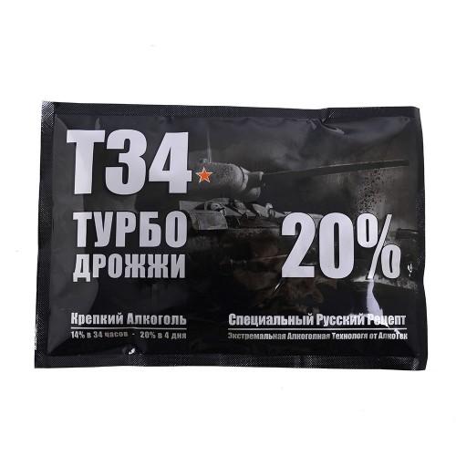 Дрожжи Турбо «Т-34», 165 гр