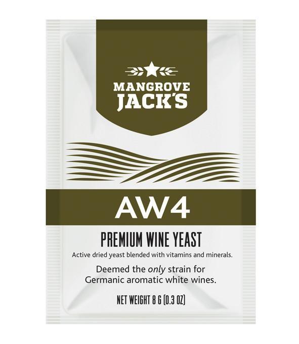 Винные дрожжи Mangrove Jack - AW4 (Vintner's Harvest)