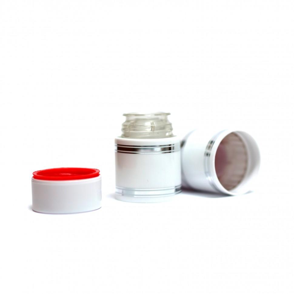 Полимерный колпачок с дозатором белый (Гуала 47 мм), 10 шт