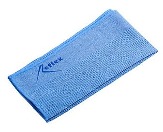 Салфетка микрофибра синяя, 30х42 см