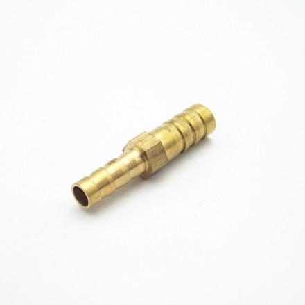 Переходник латунный с 6 мм на 8 мм