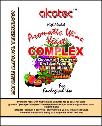 Дрожжи Alcotec Aromatic Wine Complex, 40 г
