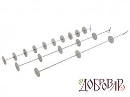 Шампур на 3 тарелки для Стеклянной ситчатой колонны «Источник»