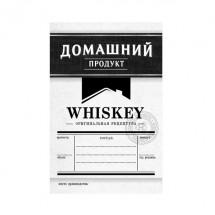 Этикетка Виски, чёрный