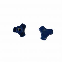 Барашек для куба М6 синий (пластик)