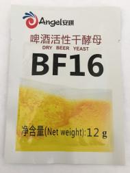 Активные сухие пивные дрожжи Angel BF16, 12 гр (лагерные)