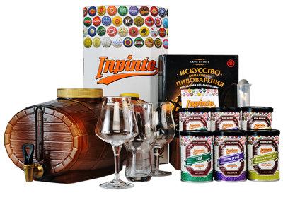 Домашняя мини-пивоварня Inpinto Christmas 2019