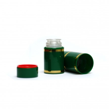 Полимерный колпачок с дозатором зелёный (Гуала 58 мм), 10 шт