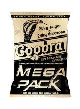 Дрожжи сухие активные  Coobra Mega Pack на 100л. 360гр