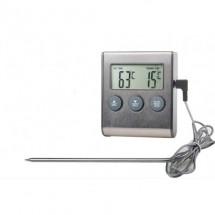 Термометр с проводным термосенсором и звуковым оповещением