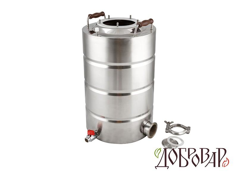 """Куб 23 л, ТЭН-К-версия (2""""), 5 шпилек (без крышки)"""