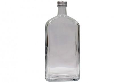 Бутылка стеклянная Флинт 1л с пробкой