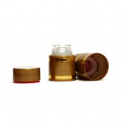 Полимерный колпачок с дозатором золото (Гуала 47 мм), 10 шт