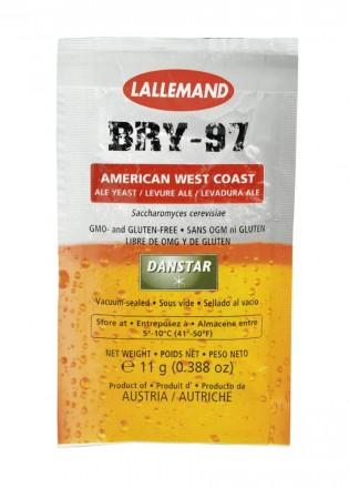 Дрожжи пивные BRY-97 American West Coast 11г
