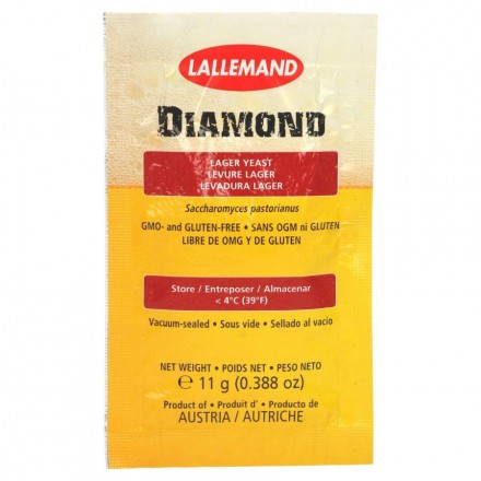 "Пивные дрожжи Lallemand ""Diamond Lager"", 11 г"
