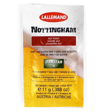 Дрожжи пивные Nottingham Ale 11г