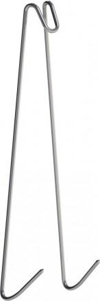 Крюки для копчения рыбы - двойные - 5 шт.