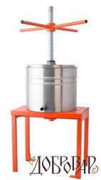 Пресс винный фруктово-ягодный напольный 8 л (метрическая резьба)